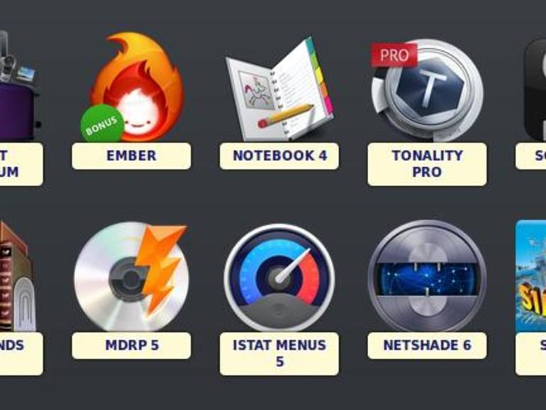 MacUpdate: 11 Programme im App-Paket geschnürt