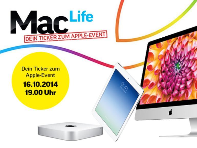 Apples zweites Herbst-Event 2014 muss große Erwartungen erfüllen