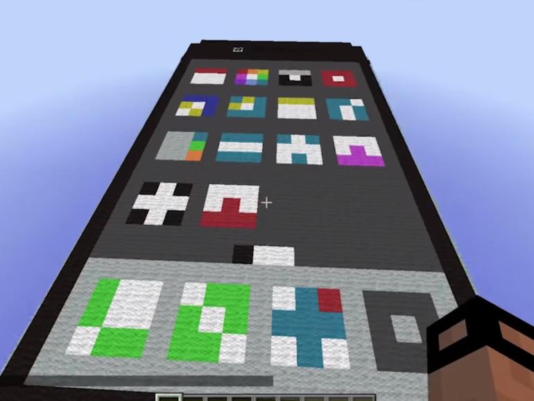 Minecraft Spieler Baut Funktionierendes IPhone Mac Life - Minecraft spieler melden