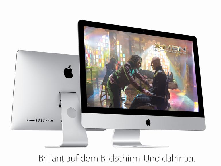 Apples neuer iMac besitzt ein 5K-Display.
