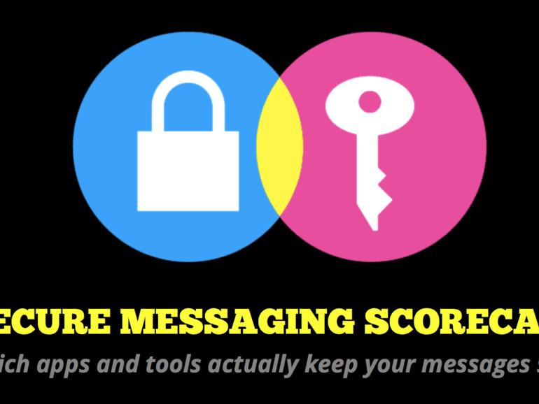 Die EFF hat aktuelle Chat-Apps untersucht und nach ihrer Sicherheit beurteilt.
