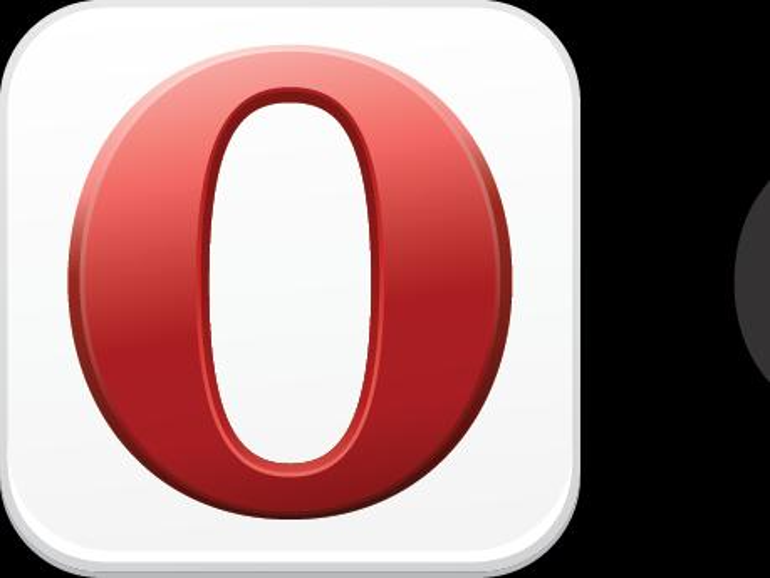 Logo der App Opera Mini