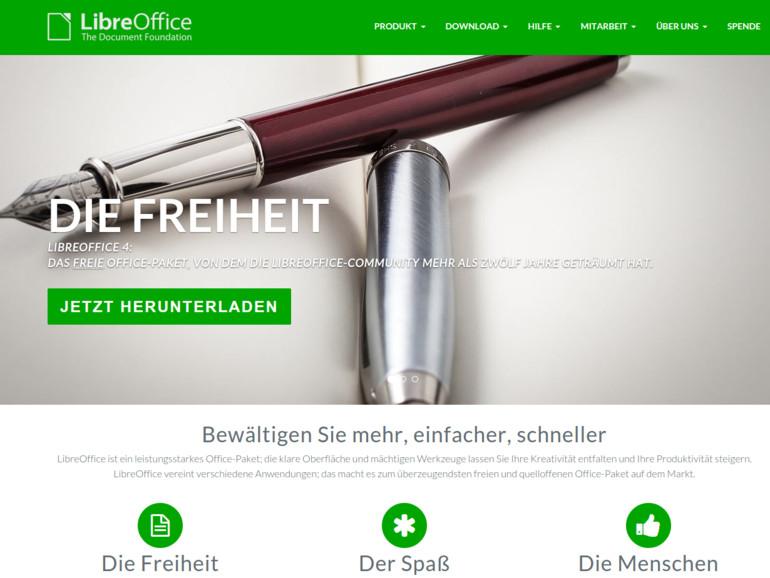 LibreOffice ist ein Open-Source-Projekt