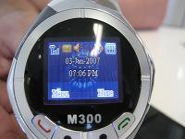 Die SMS M300 Wristwatch überzeugt im Design-Bereich nicht