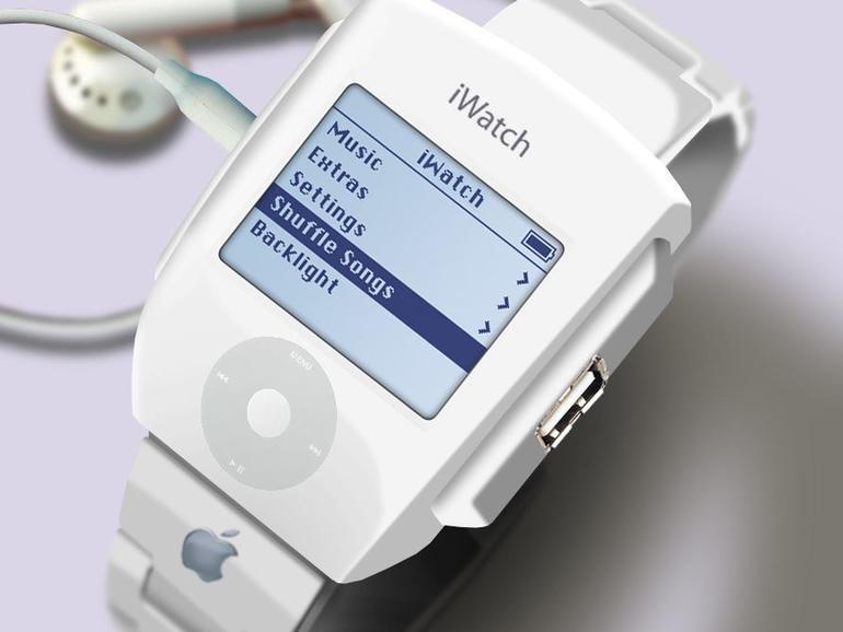 Ein frühes iWatch-Konzept aus dem Jahre 2007