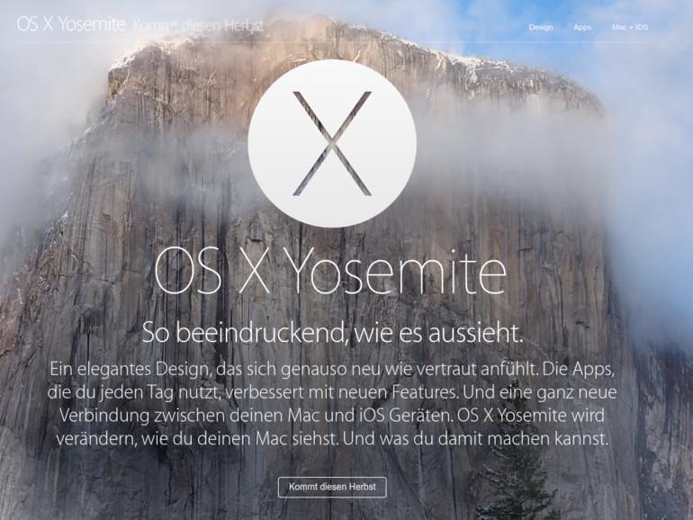 OS X 10.10 Yosemite kämpft auch nach dem Update mit Wi-Fi-Problemen