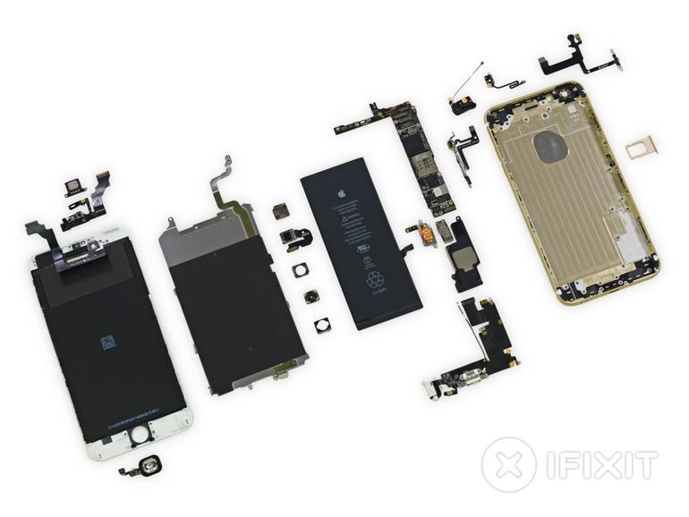 Zerlegtes iPhone 6