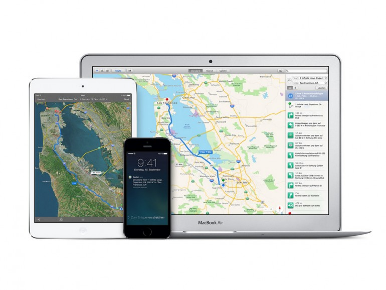 Apple Maps startete katastrophal