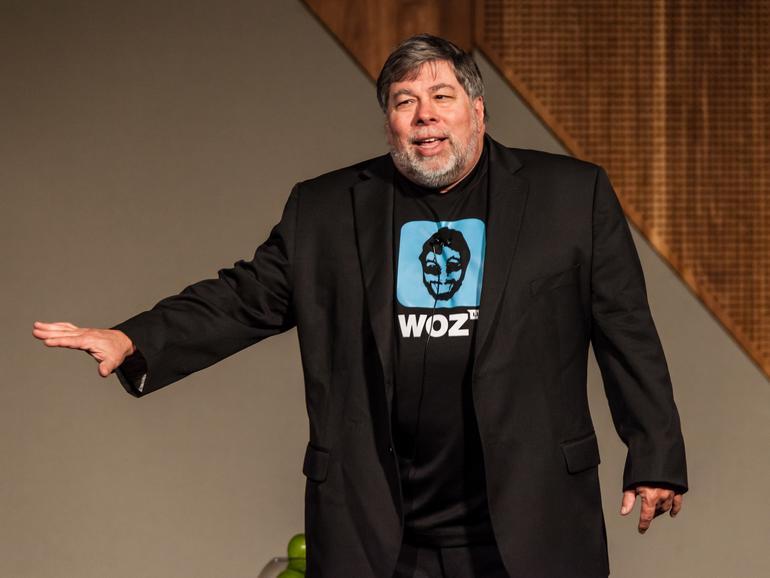Steve Wozniak ist in den Tech-Branche sehr hoch angesehen