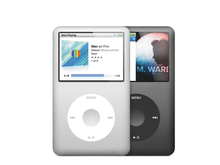 Apple hat den iPod classic mittlerweile eingestellt