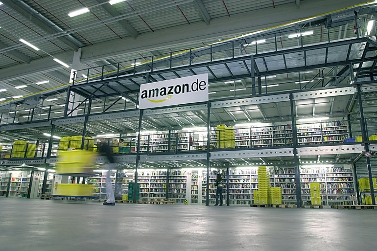 Das Amazon-Lager in Bad Hersfeld