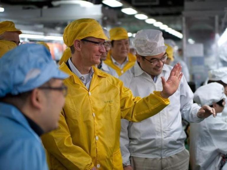 Tim Cook besuchte während seiner China-Reise ein iPhone-Werk von Pegatron