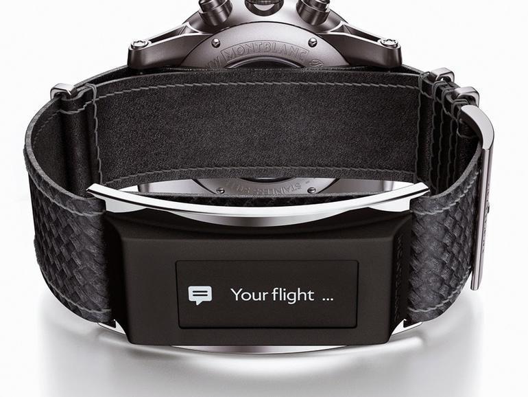 """Montblancs """"e-Strap"""" macht jede Uhr zur Smartwatch"""