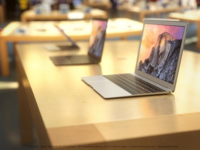Apples neues MacBook Air soll nur noch zwei Anschlüsse besitzen