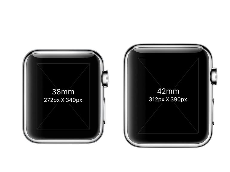 Das Display der Apple Watch nutzt das Gehäuse offenbar nicht sehr effizient aus