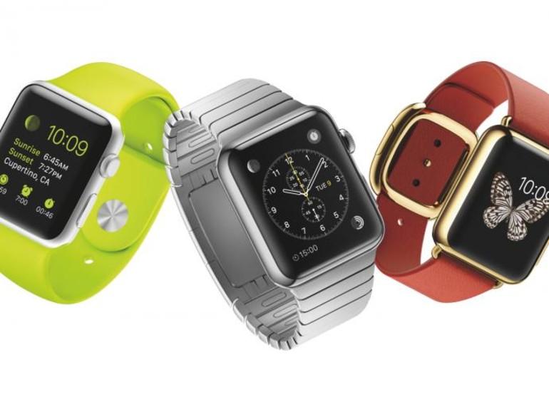 So sehen die drei originalen Apple Watch-Modell aus.
