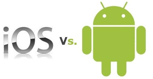 Duell der App Stores: iOS v. Android