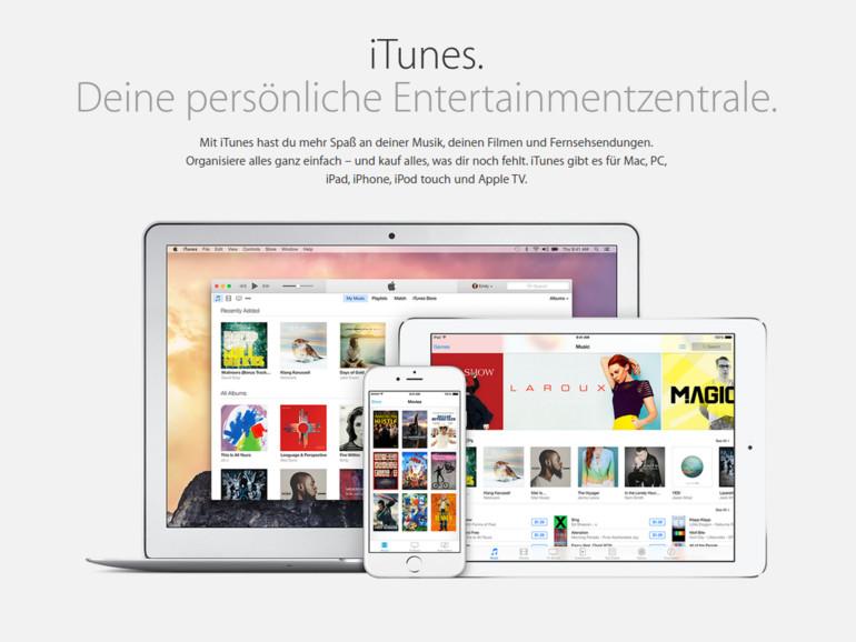 iTunes ist durchaus in der Lage Advanced-Audio-Codec-Dateien zu erkennen und abzuspielen