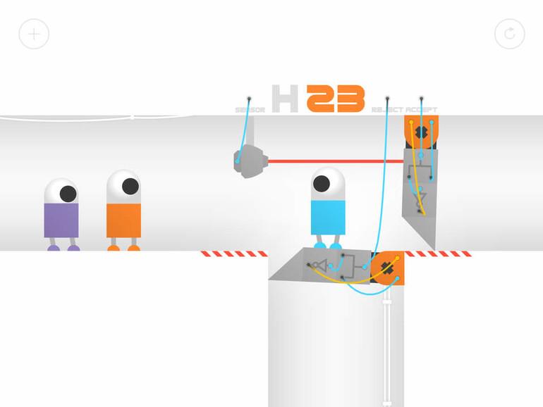 Odd Bot Out: Liebenswerte Roboter und Physik-Rätsel