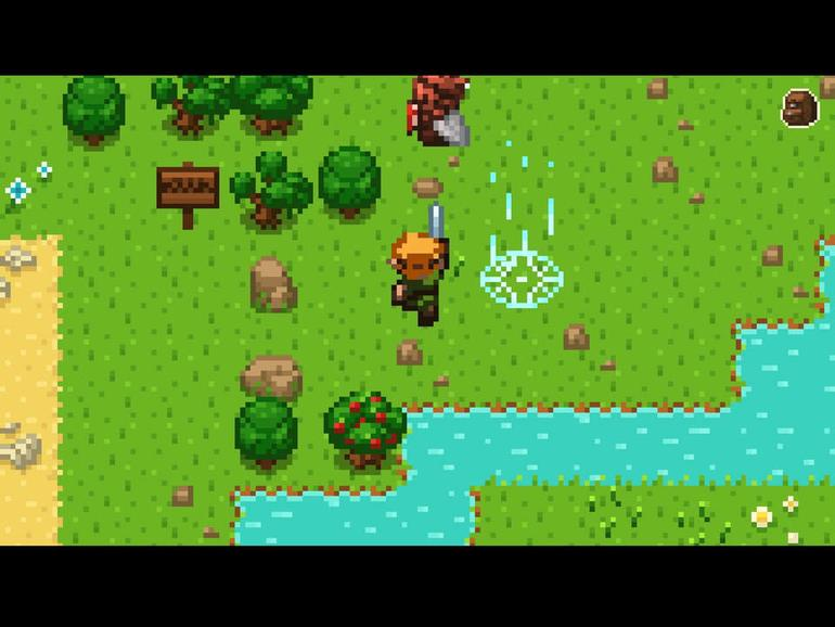 Erleben Sie die Geschichte der Videospiele in Evoland
