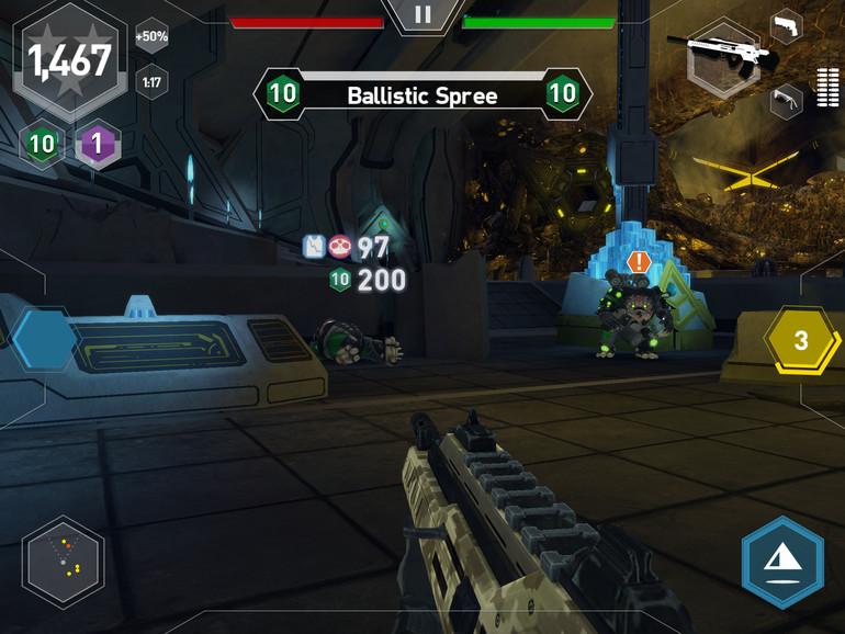 Midnight Star könnte die Shooter-Referenz für iOS werden