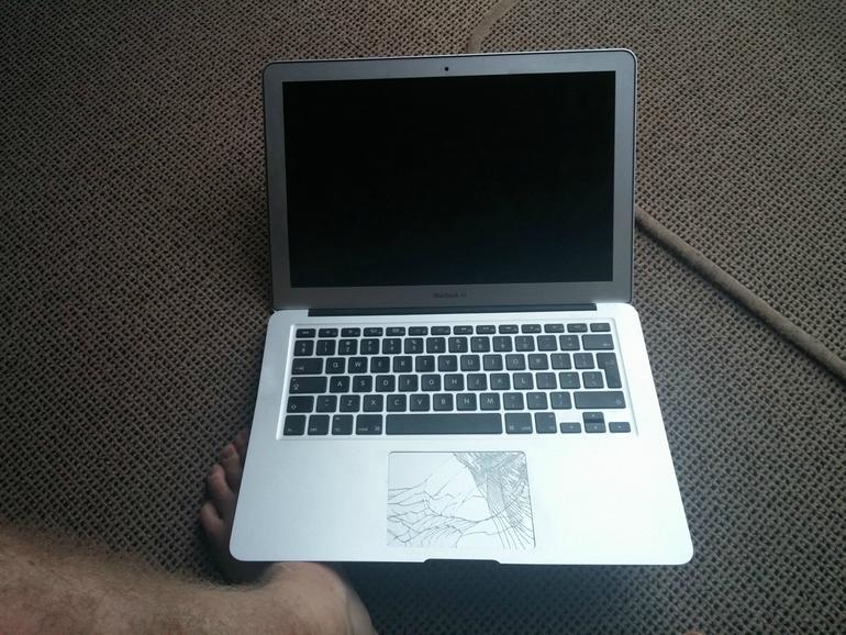 Das MacBook Air ist trotz seines delikaten Designs offenbar extrem widerstandsfähig