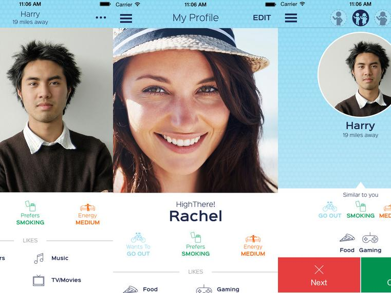 Dating-Website Piloten