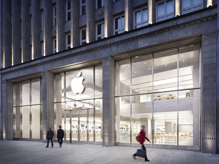 Apple Store Jungfernstieg in Hamburg