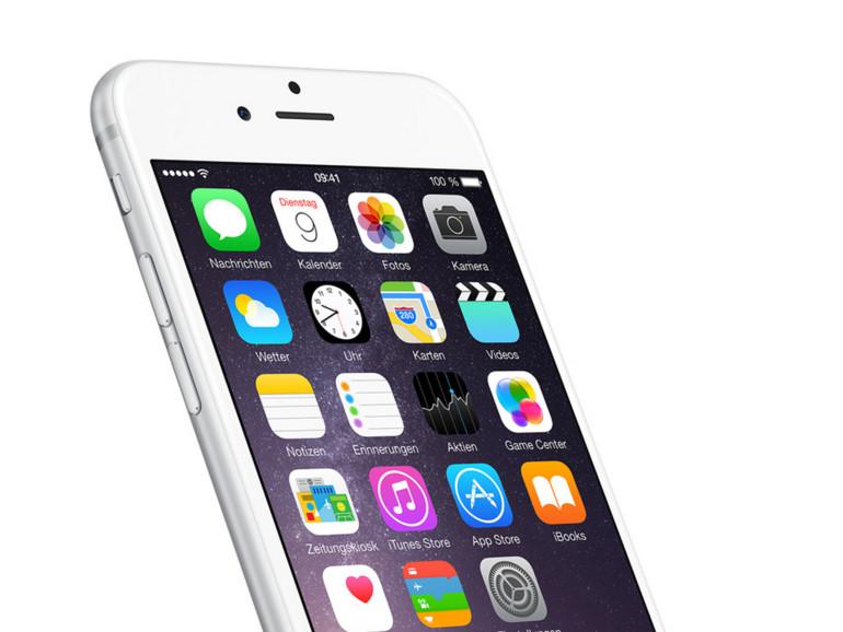 Die Ergebnisse aller vier getesteten iOS-Versionen liegen sehr nahe zusammen