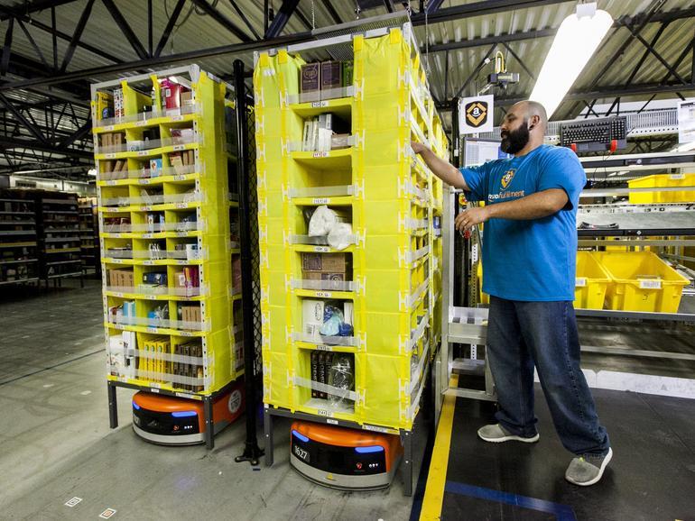Große Lagerhäuser könnten bei Amazon bald zur Vergangenheit gehören