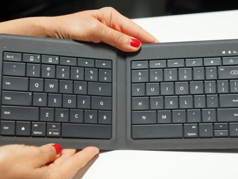 Microsofts neue Bluetooth-Tastatur ist nicht nur mit Windows- und Android-Geräten, sondern auch mit iPads und iPhones kompatibel