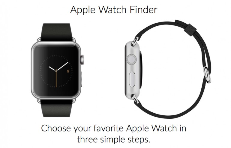 Apple Watch-Konfigurator in drei Schritten ...