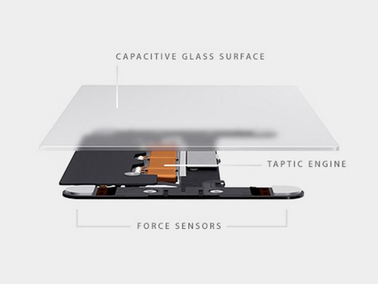 Neben Force Touch besitzt das neue TrackPad auch ein Feedback-System