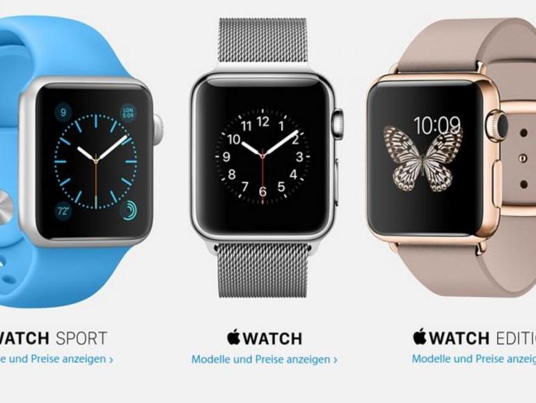 Alles um der Apple Watch keine Konkurrenz bieten zu können.