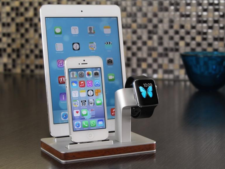 apple watch ladestation eignet sich auch f r iphone und. Black Bedroom Furniture Sets. Home Design Ideas