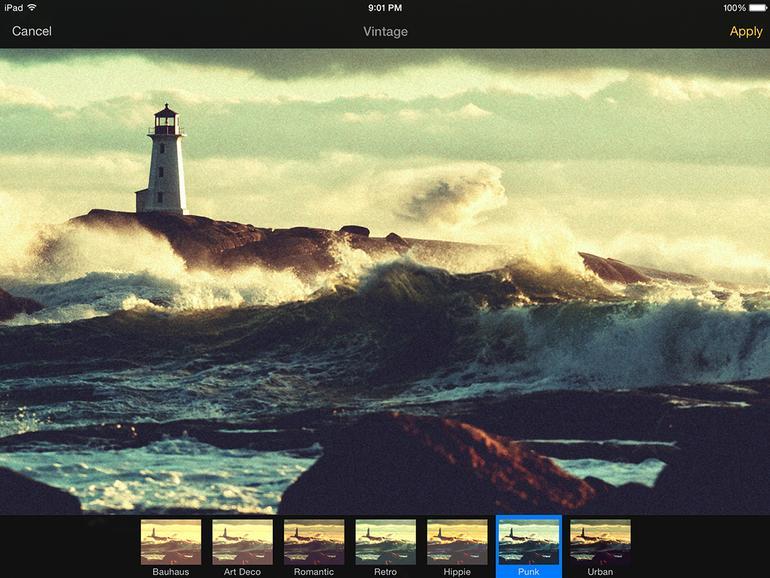 Pixelmator - Bildfilter