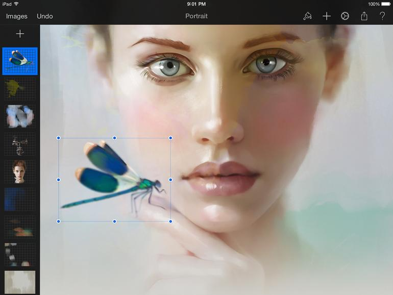 Pixelmator - Aquarelltechnik