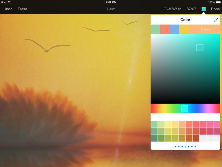 Pixelmator - Farbauswahl