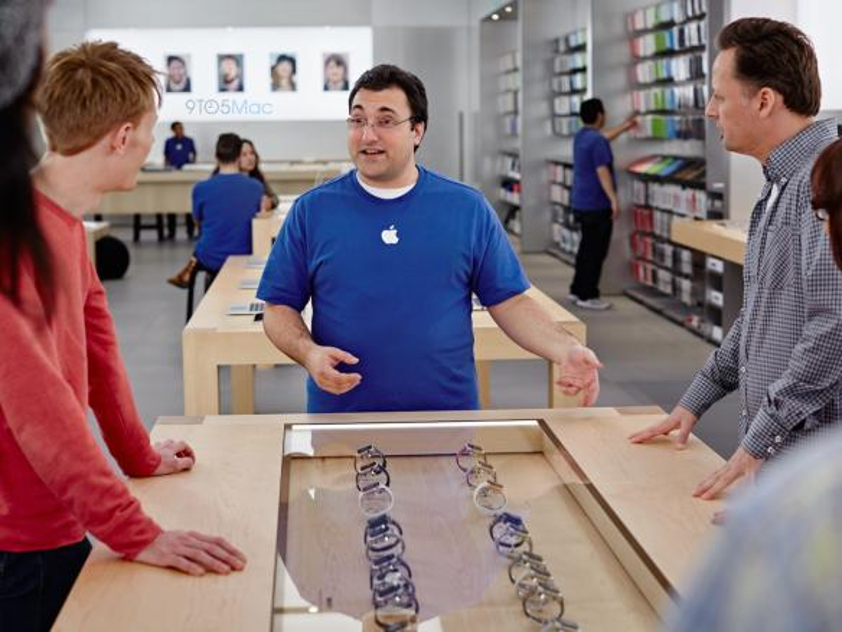 Apple wird in jedem Apple Store mehrere Stände aufbauen, an denen potentielle Käufer die Apple Watch ausprobieren können