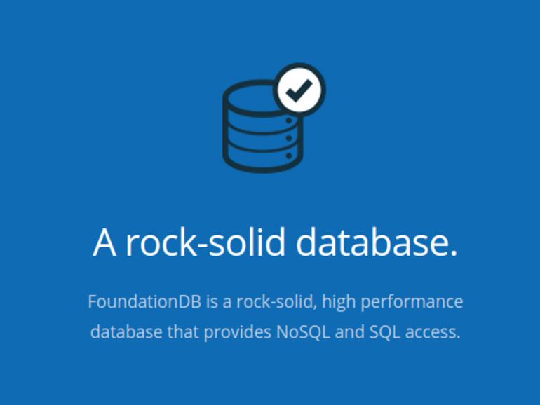 FoundationDBs Datenbanken gelten als äußerst effizient