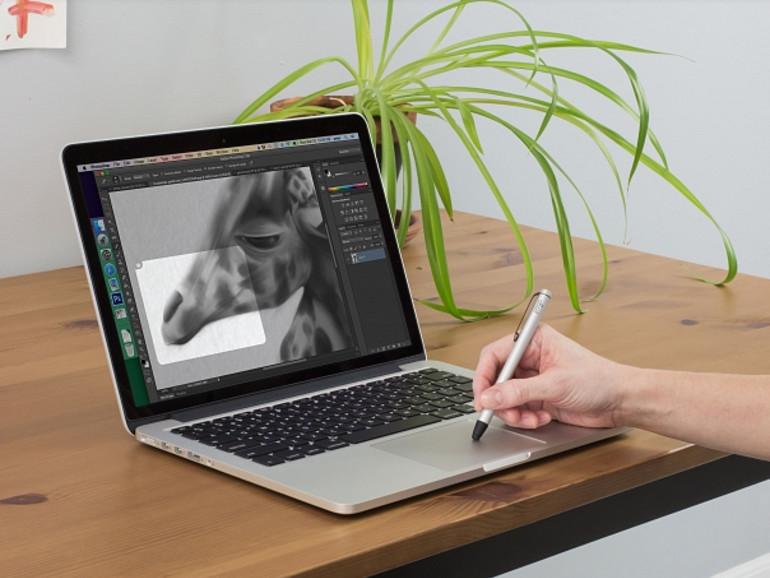Ten one Design behauptet selbstbewusst, dass der Besitzer eines MacBooks mit Force Touch-TrackPad und der App Inklet sein Zeichen-Tablet nicht mehr benötigt