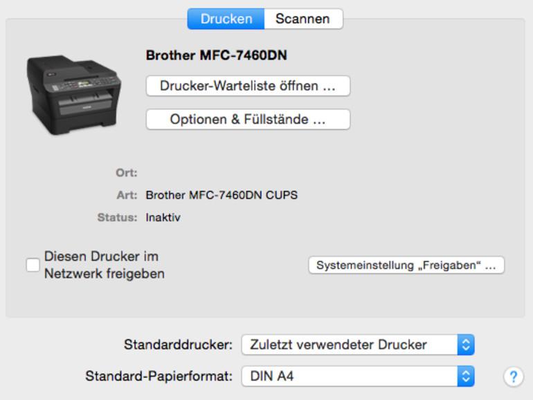 OS X Yosemite: Drucker an Mac hinzufügen und installieren