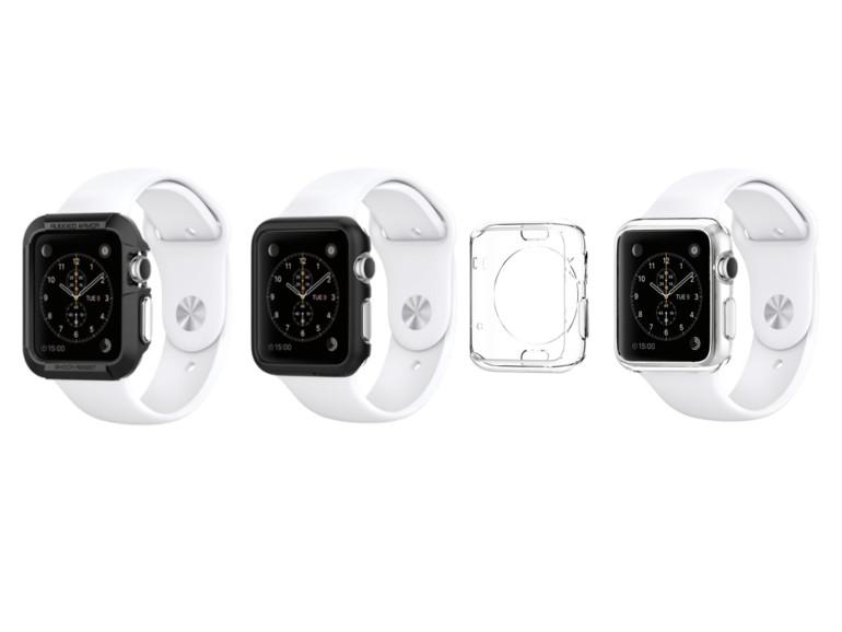 Spinnen bietet ab Ende April 3 Schutzhüllen für die Apple Watch an.