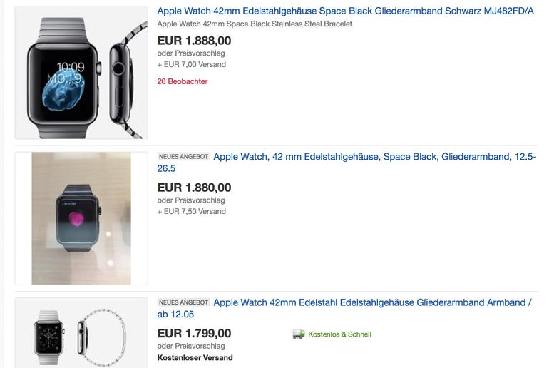 Apple Watch bei eBay