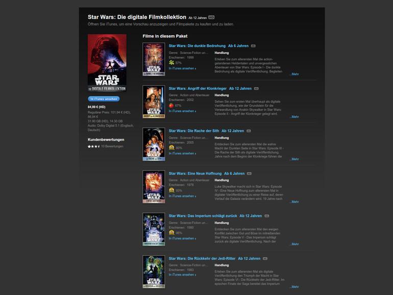 itunes film download derzeit nicht möglich