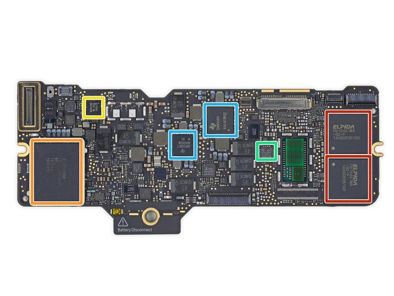 iFixit zerlegt MacBook: Logic-Board ähnelt der iPad-Hardware