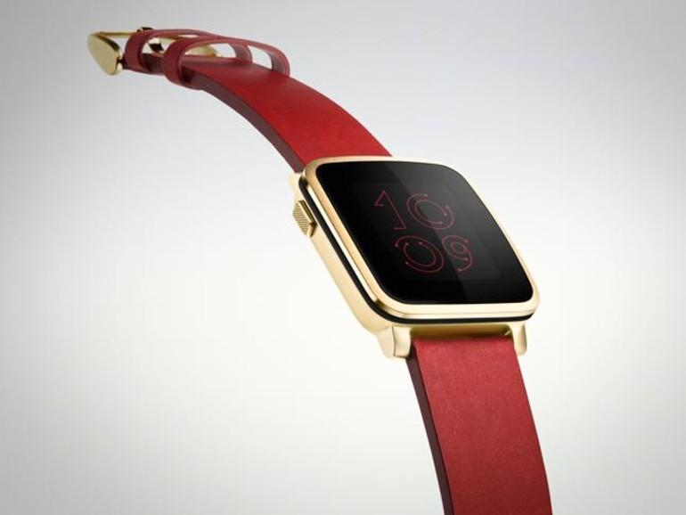... Pebble Time Steel äußerst ähnlich - Grund genug für Apple die Konkurrenz zu fürchten?