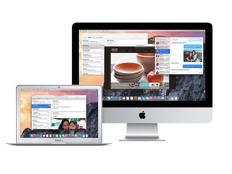 Apple will mit OS X 10.10.4 Yosemite unter anderem die Stabilität des Betriebssystems verbessern