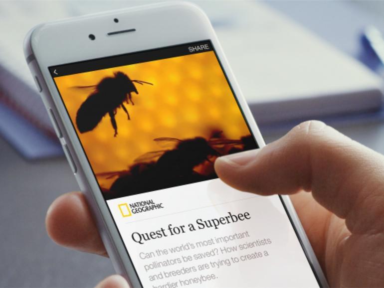 Instant Articels spart Facebook-Nutzern pro Artikel mindestens einen Klick und einige Sekunden Ladezeit