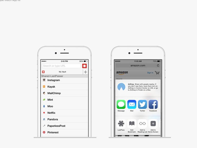 LastPass für das iPhone